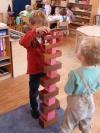 Krippe Montessori Spiel